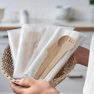 Disposable tableware and cutlery